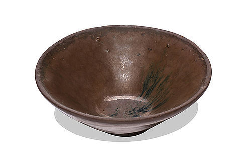 Song dynasty Jian persimmon glazed tea bowl perfect conditions