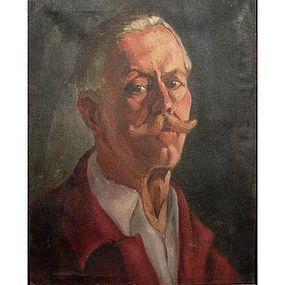 Portrait by Canadian Ukrainian Painter Silvia G. Schurick