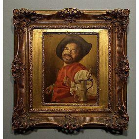 Portrait of a Dwarf Oil Painting