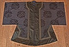 Antique Chinese Qing Dynasty Silk Robe with Dragon