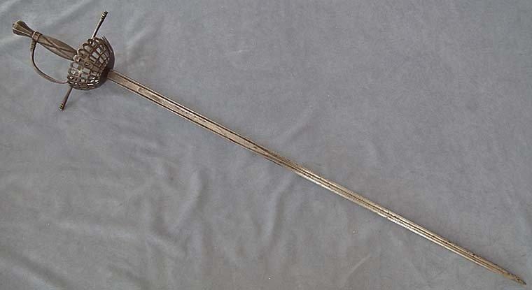 Antique over 100 years old European Sword Rapier