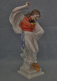 Vintage Hungarian Herend Porcelain Figurine Hungarian