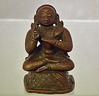 Antique 17th � 18th Century Indian Bronze Figure of a Hindu