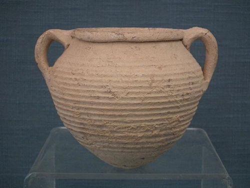 Ancient Roman Terracotta Pottery Amphora 1st -3rd century A.D.