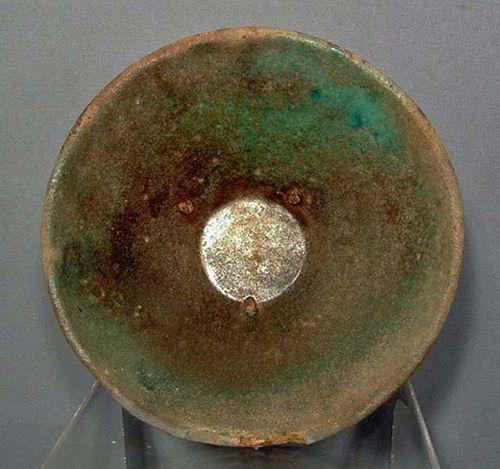 Islamic Ceramic Bowl Raqqa, Syria, 13th Century A.D.