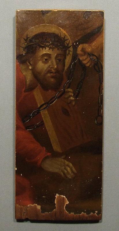 Antique 18th century European Painting of Christ
