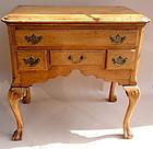 Philadelphia Tiger Maple low boy 18th century