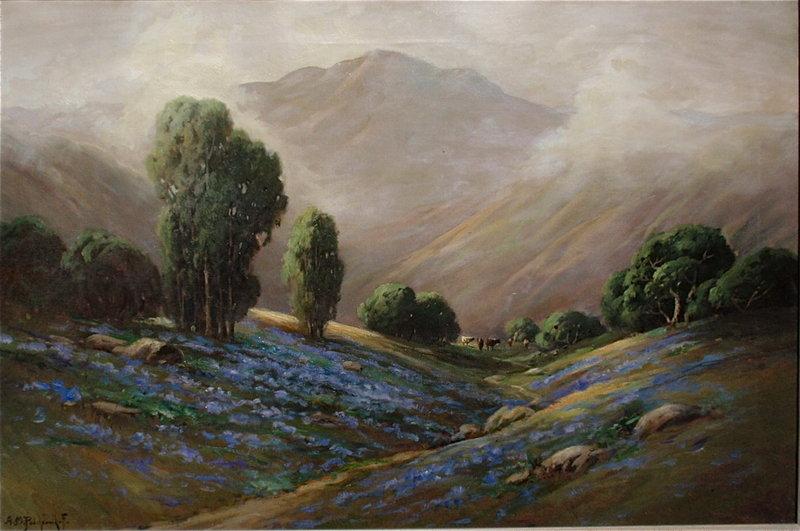 Alexis Podchernikoff California landscape Mt. Tamalpais