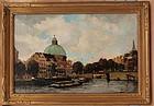 Dutch impressionist Amsterdam G. Koopman