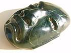 Olmec jade mask pendant pre columbian art