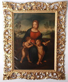 Madonna of the Finch after Raphael