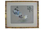 Birds and Flowers by Zhāng Shūqí