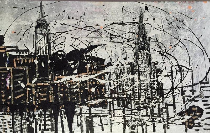 New York Manhattan Skyline Tom Christopher