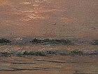 Charles D. Robinson California Impressionist seascape