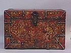 Antique Tibetan Painted box