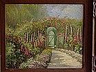 William Adam Carmel Garden California impressionist