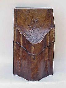 Mahogany Knife Box Georgian c. 1790