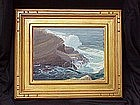 Carmel California impressionist seascape Clyde Scott