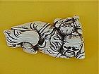Japanese Ivory Netsuke of Daruma & Child 19th century