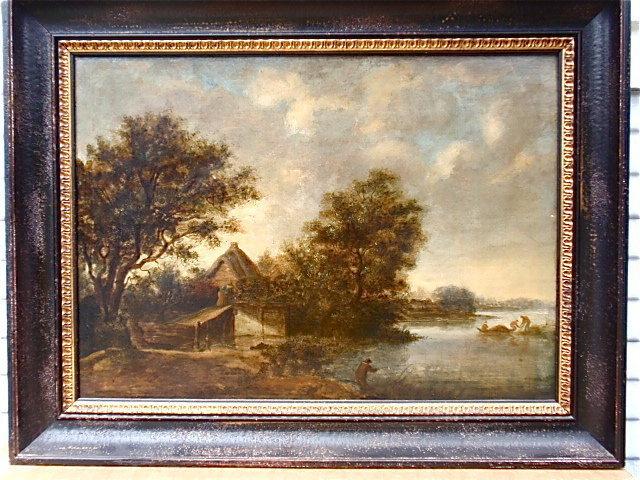 Salomon Van Ruysdael 17th century Dutch landscape