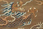 18C Chinese Imperial Kesi Silk Embroidery Dragon