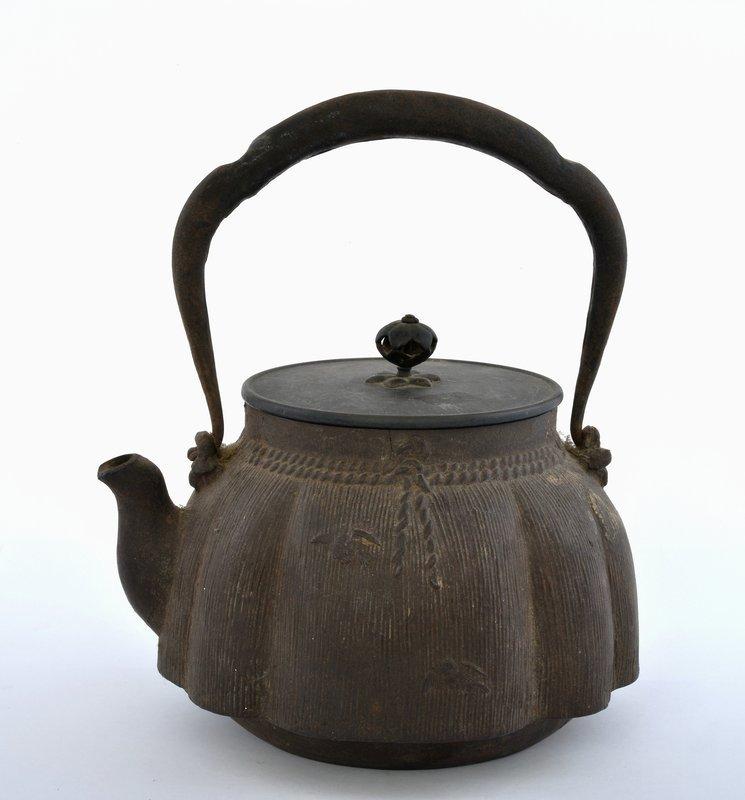 Japanese Cast Iron Kettle Teapot Tetsubin Ryubundou Sg KINRYU-DO