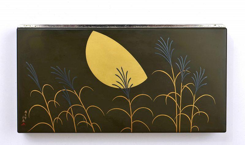 Old Japanese Namiki Yukari Lacquer Cigarette Case Box Sg