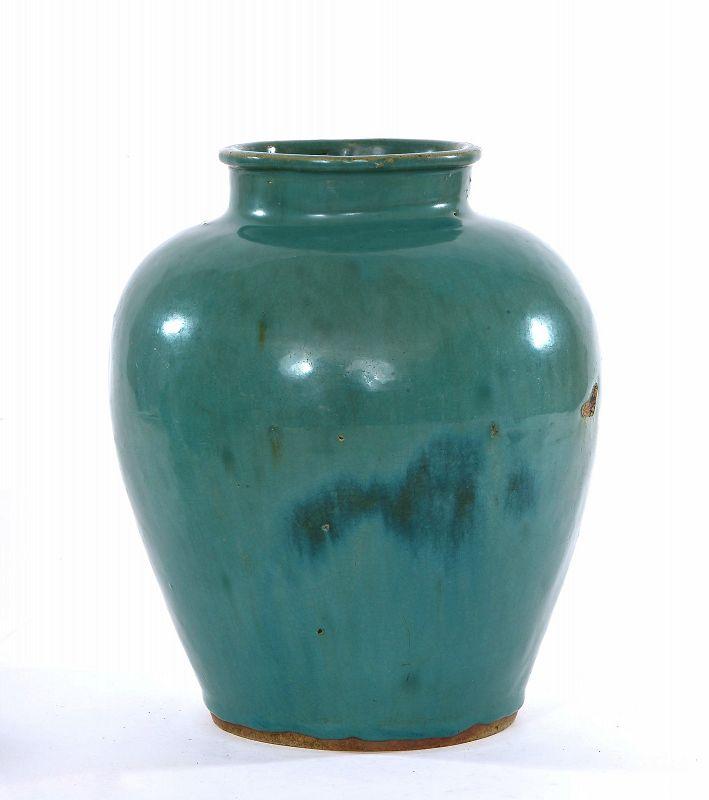 18C Chinese Shíwan Junyao Pottery Jar Pot Vase ��窯
