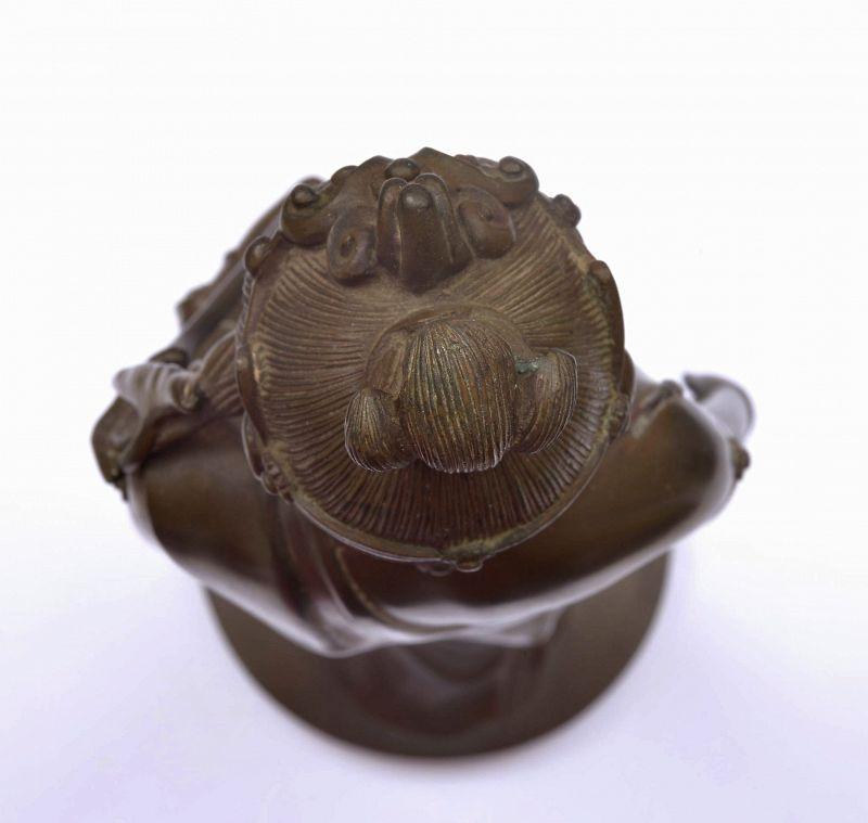 Japanese Bronze Kannon Kwan Yin Buddha Figure By Takamura