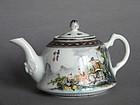 Fine Fencai Teapot by Nie Xing Sheng - Republic Period