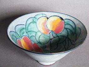 Rare Studio Pottery Bowl by Tessa Fuchs (1936-2012)