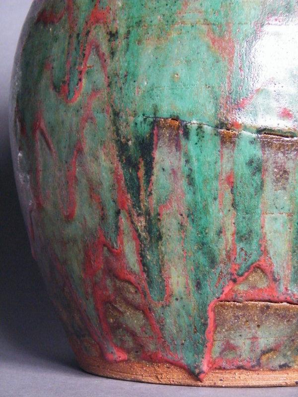 Large Studio Pottery Vase by Trevor Corser, St Ives,