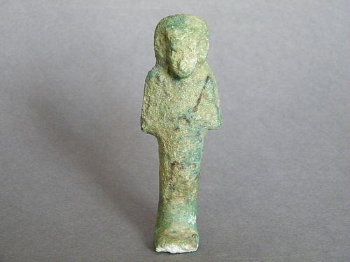 Ancient Egyptian Ushabti, Late Period (circa 1069-332 BC)