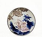 Meiji Japanese Studio Plate Shofu w Silver