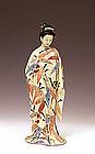 Japanese Satsuma Studio Nude Geisha Miyanaga Tozan
