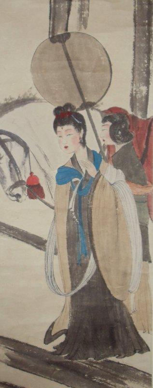Yang Yuhuan, a Tang Dynasty Royal Consort by Fu Baoshi