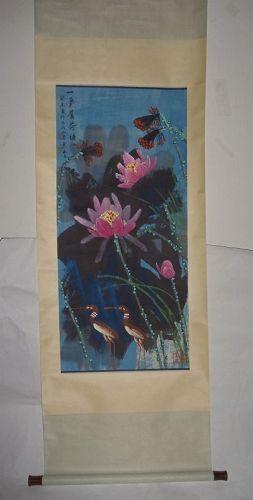 Enchanting Lilies with Charming Birds / Huang Yongyu (1924- )