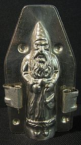 Early German Father Christmas Chocolate Mold
