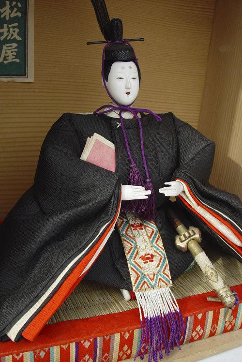 Japanese Dairi-bina Emperor and Empress Hina Dolls