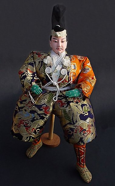 Japanese Samurai Doll, Large Musha Ningyo 22 inches