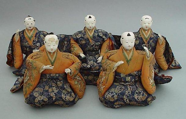 Large Edo Musician Dolls, Hina Dolls, Additional Photos