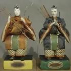 Old Samurai Zuishin Hina Ningyo Dolls