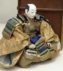 Japanese Antique Doll, Large Samurai General in Armor