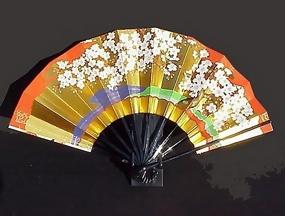 Japanese Dancer's Fan