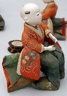Add. photos for #529813 Antique Musician Dolls