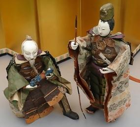 Unique Japanese Dolls Large Warrior Dolls Jingo Edo