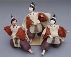 Unique Japanese Folk Hina Dolls, Servant Dolls