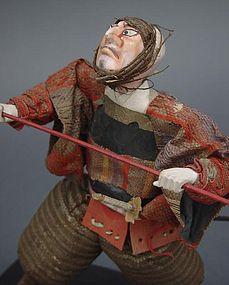 Japanese Takeda Samurai doll from Kabuki Theater