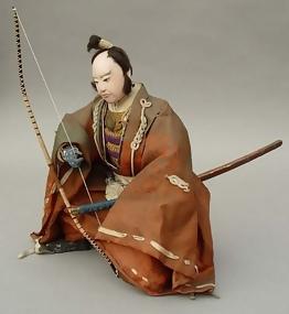 Samurai Japanese Musha Ningyo Doll