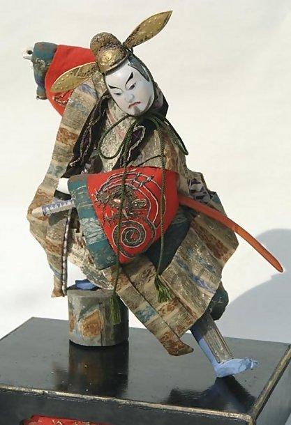 Antique Takeda Samurai Doll
